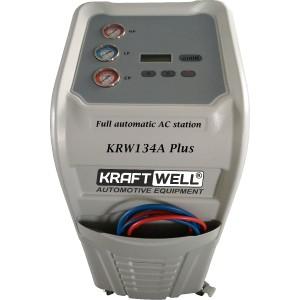 Станция для заправки автомобильных кондиционеров KraftWell KRW134A Plus