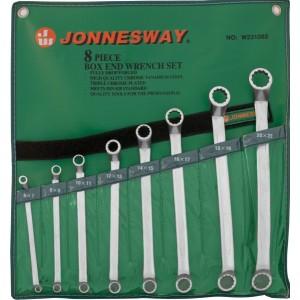 Набор ключей гаечных накидных изогнутых  W23108S JONNESWAY
