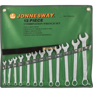 Набор ключей гаечных комбинированных в сумке W26112S JONNESWAY