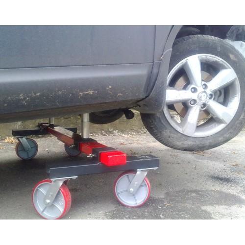 Подкатная тележка для ремонта автомобиля своими руками 100