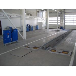 Универсальная линия технического осмотра ЛТК-10УП-СП-11