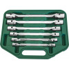 Набор карданных ключей 8-19 мм, 6 предметов W43A106S  JONNESWAY