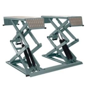 Подъемник ножничный короткий г/п 3000 кг. напольный KraftWell арт. KRW3FS