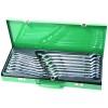 Набор ключей гаечных комбинированных с накидным изогнутым профилем 75° в кейсе, 7-24 мм, 16 предметов W69116S  JONNESWAY