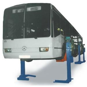 Подъемник для автобусов сцепок и трехосных автомобилей ПП 30