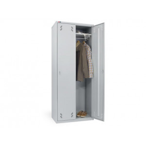 Шкаф гардеробный металлический ОД-423/Б