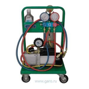 Установка для заправки кондиционеров SMC402-2C